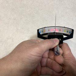 Jackson Sharpening - Laser Goniometer